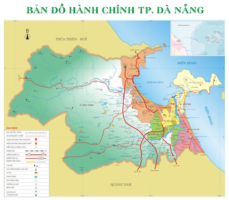 Đà Nẵng có bao nhiêu quận?