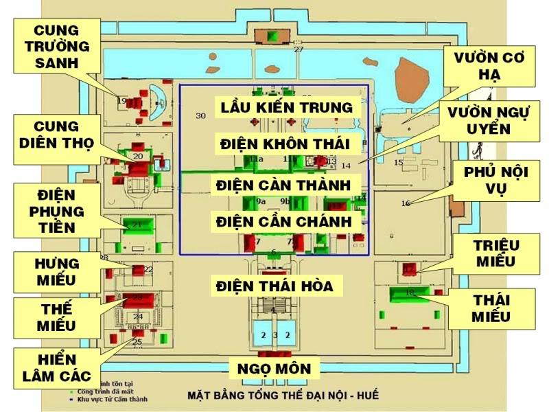 Địa điểm thăm quan du lịch nổi tiếng ở Huế