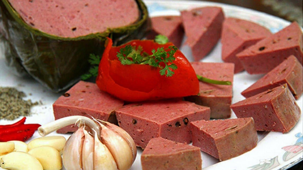 Giò bò đặc sản nổi tiếng Đà Nẵng
