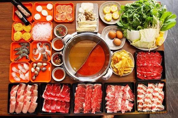 Món lẩu thái chua cay Thái