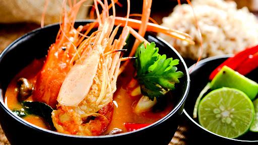 Món Tôm Yum Thái
